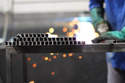 Preparing and pipe cutting with grinder